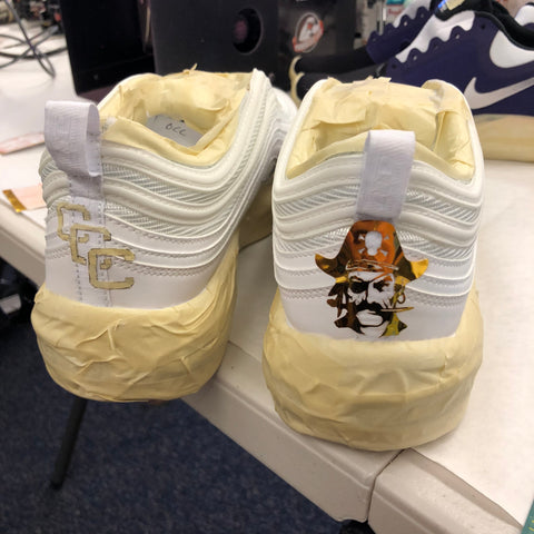 Custom Kicks for the Athleticcs Staff at OCC