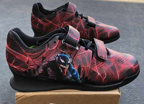 Spider-man and Venom Nike Romaleos