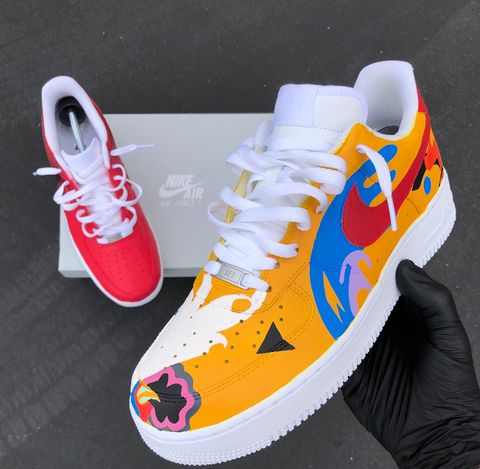 custom Mac Miller shoes