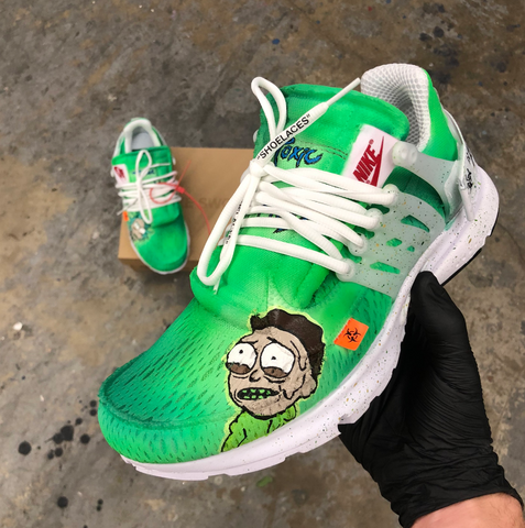 Toxic Morty Off White Nike