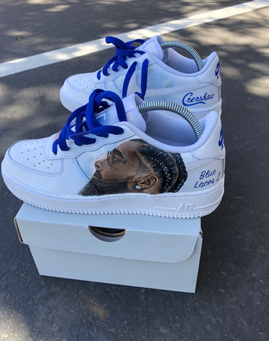 Nipsey Hussle Custom Shoes
