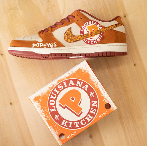 popeyes chicken sandwich shoes