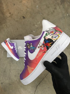 Kanye West's 'Graduation' Album Cover Nike Air Force 1s