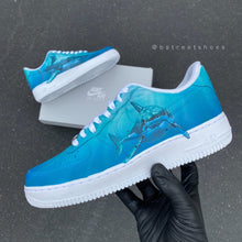 Nike Air Force 1 Low - Great White Shark Theme