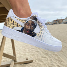 Tupac Portrait Nike Air Force 1s