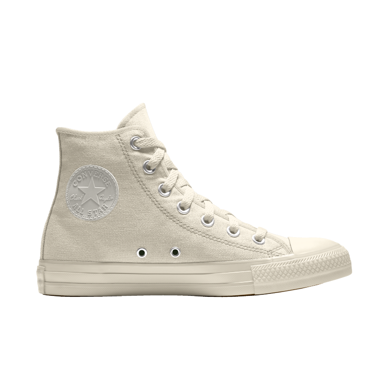 Custom Offwhite Converse High top - Mens 9 - Custom Order - Invoice 1 of 2
