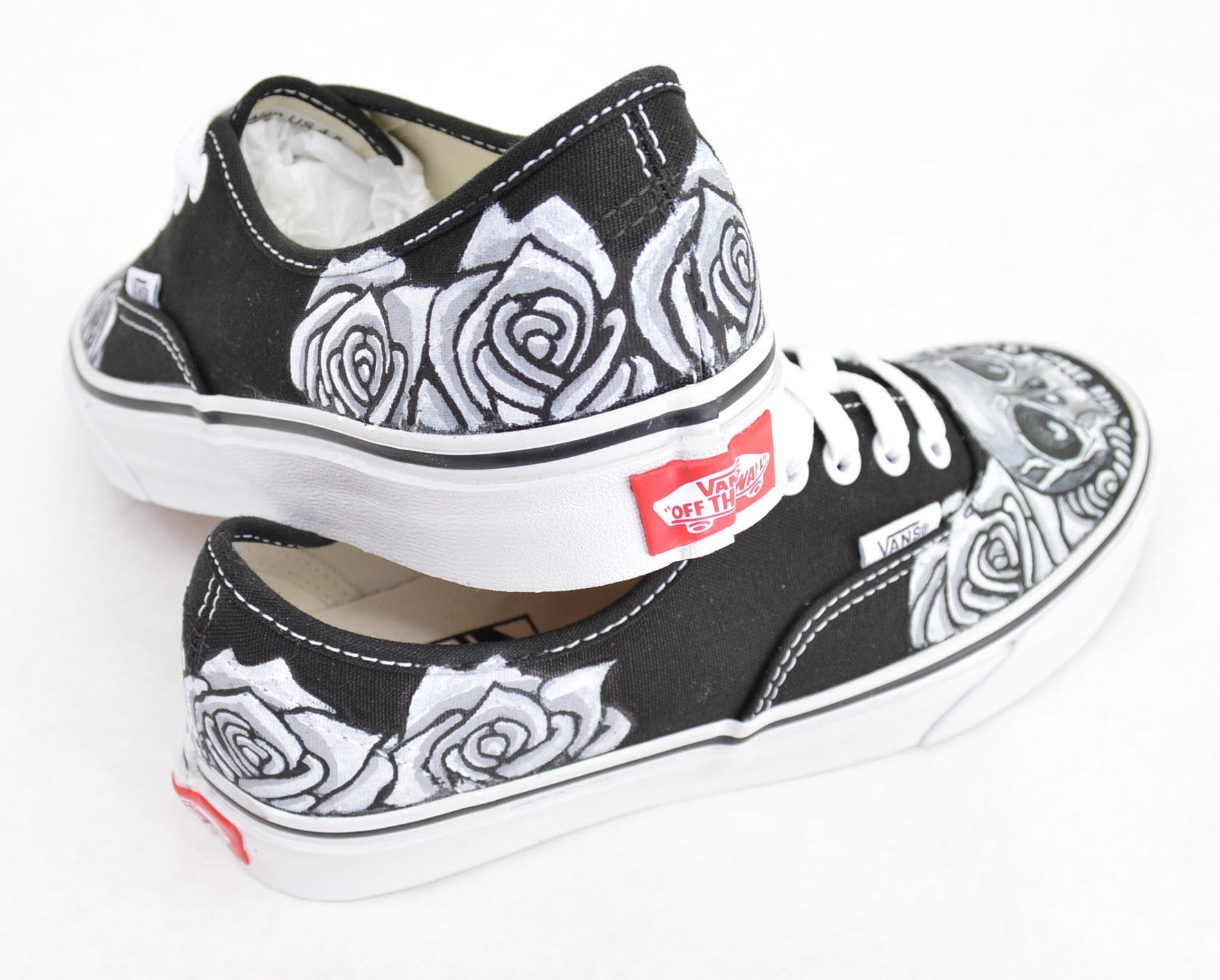Vans Authentic Custom Black & White S...