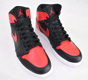 Custom Hand Painted Jordan AJ 1 High - Air Jordan Black/Varsity Red