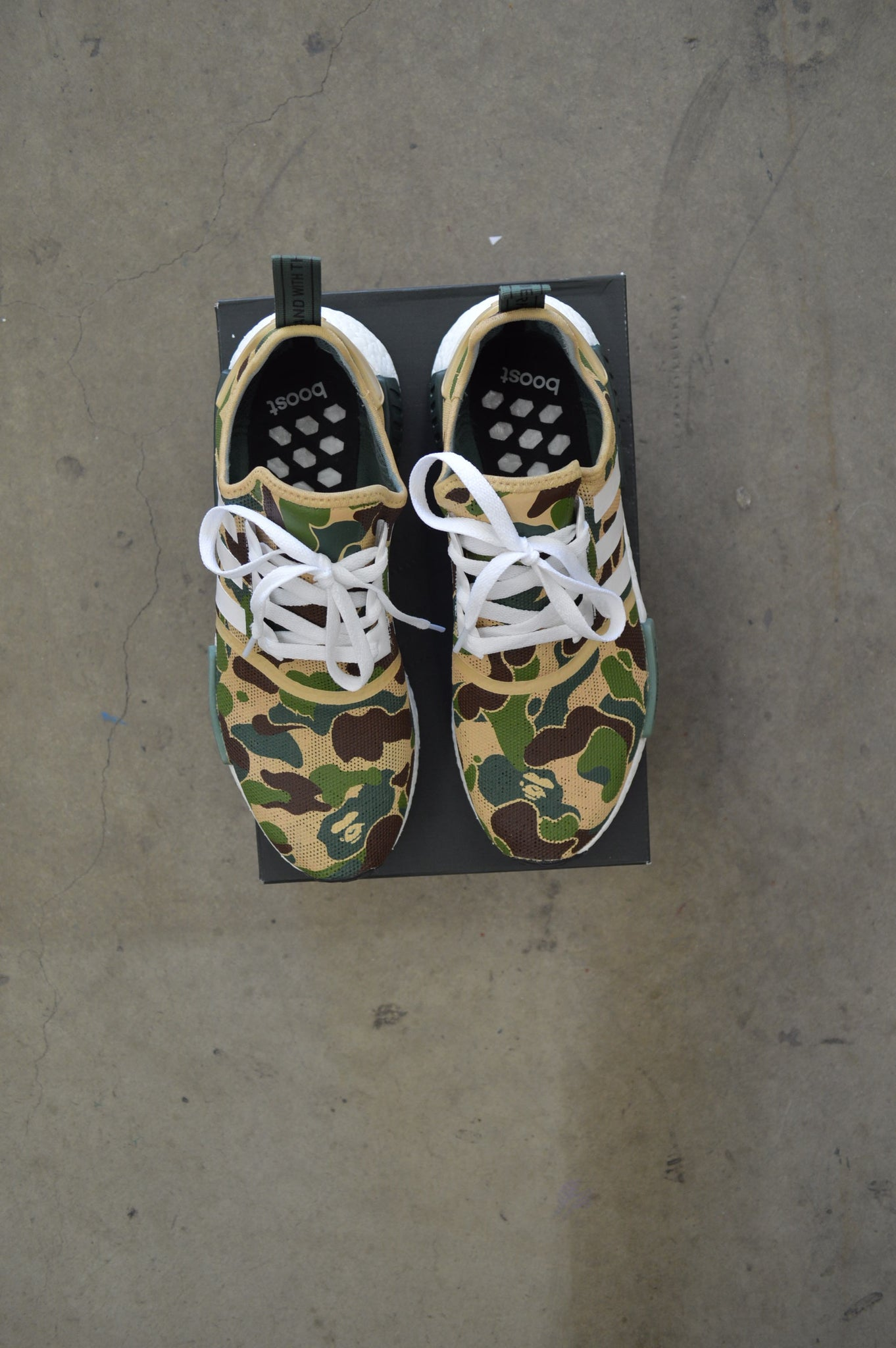 online store a1f2a 56680 BAPE Inspired Custom Painted Adidas NMD R1 ...