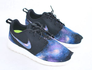 Custom Nike Roshe Run - Hand Painted Galaxy Sneakers - B Street Shoes