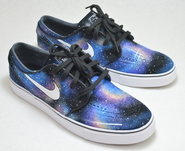 Hand Painted Galaxy Nike Zoom Stefan Janoski  Sneakers