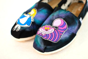 Alice in Wonderland Toms shoes