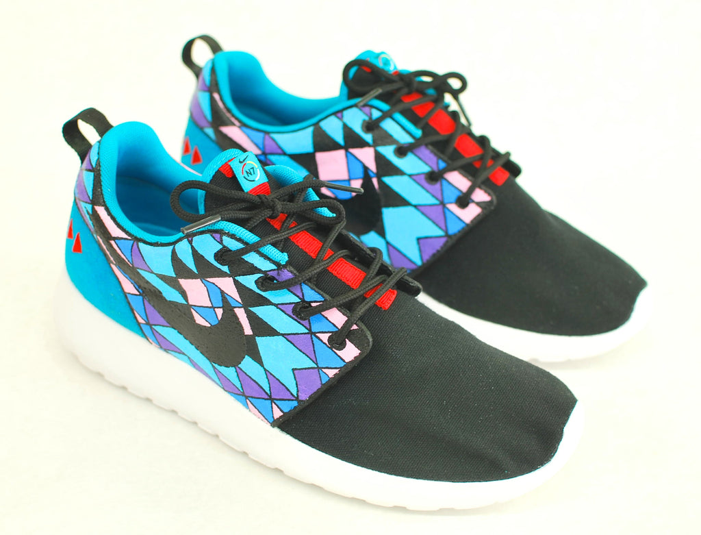 nike shoes roshe galaxy. nike roshe run, custom hand painted one shoes galaxy
