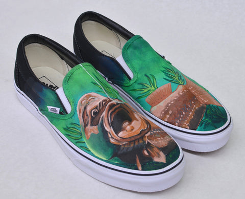 sport fishing vans, custom vans shoes