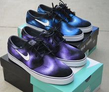Nike SB, Custom Sneakers, Unique Art Shoes, Hand Painted Shoes, bstreetshoes, stefan Janoski