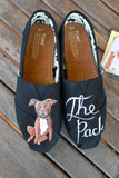 Custom Dog Portrait Toms Shoes