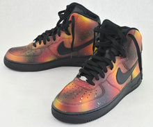 Custom Solar Flare Galaxy Air Force One Nike Sneakers - B Street Shoes