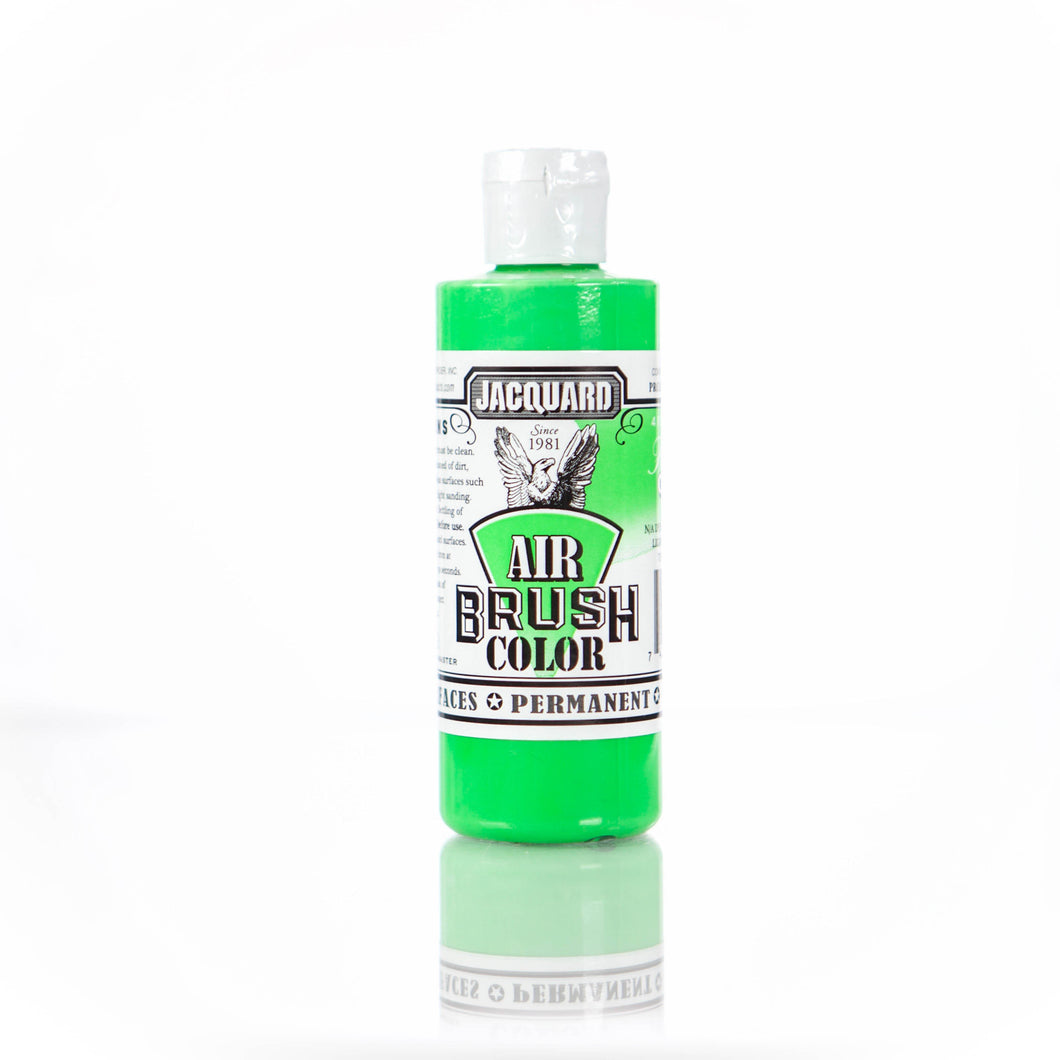 Fluorescent Green Jacquard Airbrush Paint