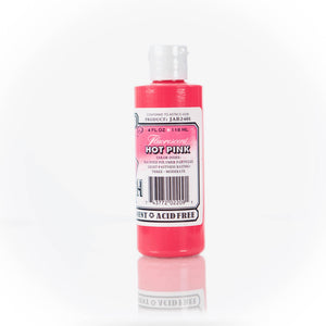 Fluorescent Hot Pink Jacquard Airbrush Paint