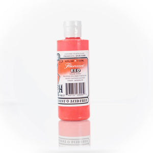 Fluorescent Red Jacquard Airbrush Paint