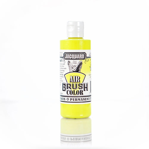 Fluorescent Yellow Jacquard Airbrush Paint