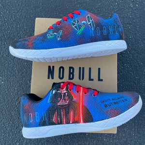 Custom Painted Star Wars Darth Vader NOBULL Trainers