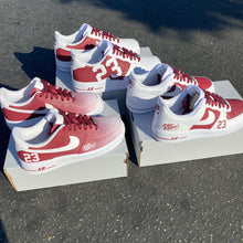 White AF1 Lows - 3 Pairs - Custom Sample Order - Second Invoice