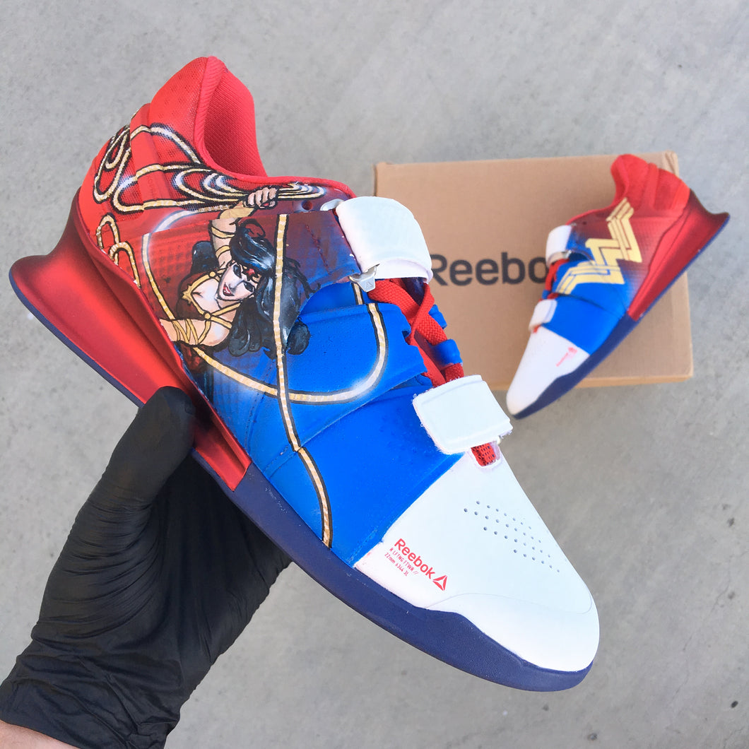 Cutsom Hand Painted Reebok Legacy Lifters