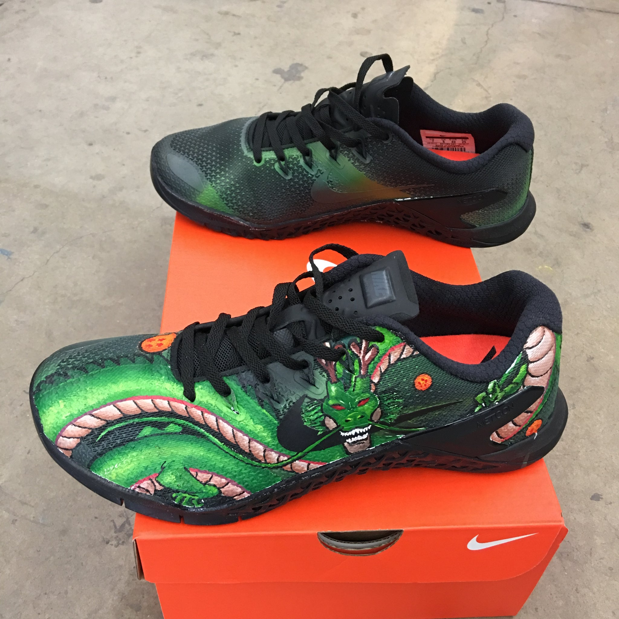 pretty nice 4231d d70b9 ... ebay dragon ball z themed nike metcon 59c9b 2cd4b