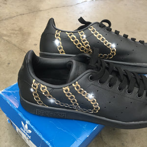 Gold Chains Adidas Stan Smiths