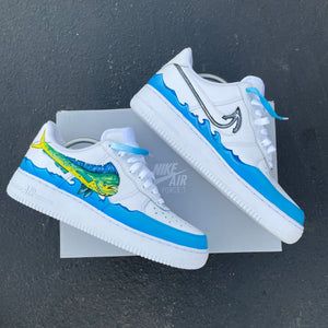 Nike Air Force 1 White Low - Mens 10 - Custom Order - Invoice 2 of 2