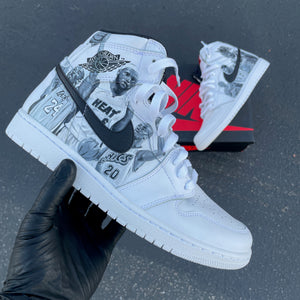 Jordan 1 Retro - Mens 9.5 - Custom Order - Invoice 2 of 2