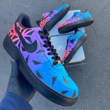 Custom Hand painted Nike AF1 Low - Color Punch