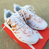 Tiger Stripe Nike Roshe One - Custom Painted Sneakers