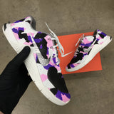 Custom Painted Nike Metcon Sneakers - Pink & Purple Camo