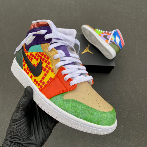 Custom Hand Painted Nike