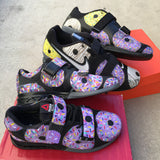 Doughnut Lifters, Hand Painted Shoes