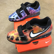 nike romaleos 3, hand painted shoes, custom nike romaleos 2