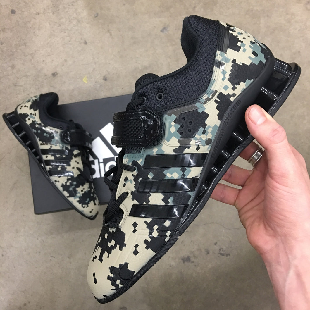 Adidas Adipower Lifters, Camo Weightlifting Shoes