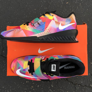 Custom Painted Nike Romaleos 3 Weightlifting Shoes