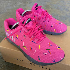 Hot Pink Sprinkles NOBULL Trainers