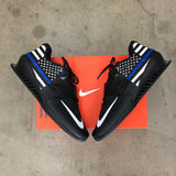 Blue Line Nike Romaleos 3 Custom Painted Weightlifting Shoes