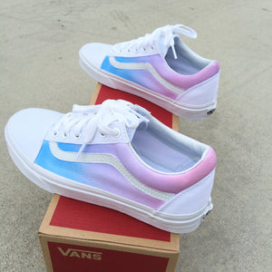 Custom Painted Vans Old Skool Shoes