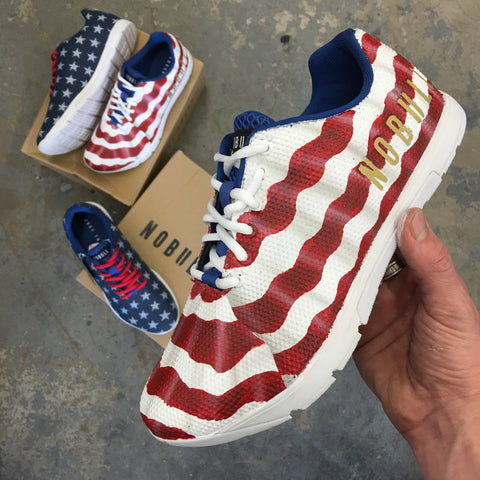 American Flag NOBULL Trainers