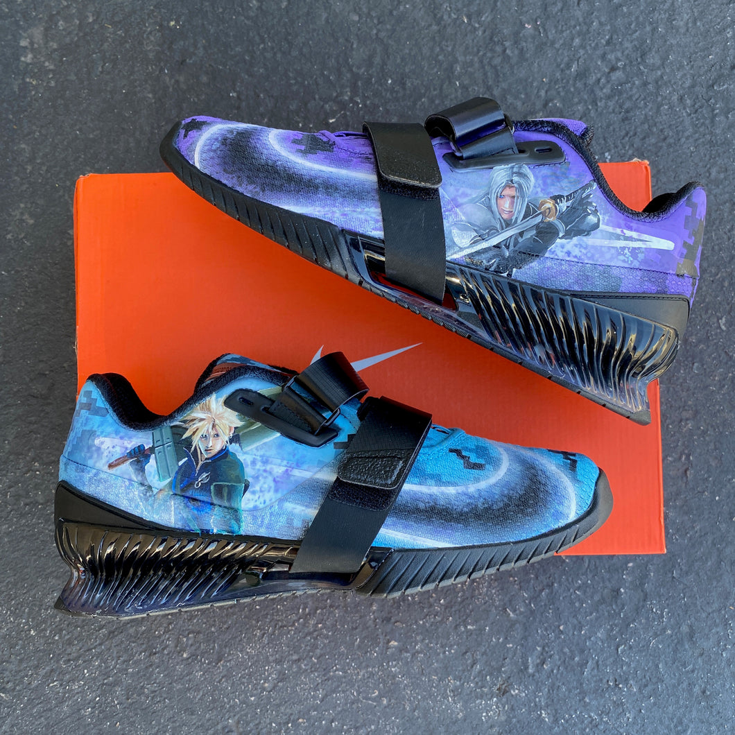 Nike Romaleos - Final Fantasy Theme - Custom Order - Invoice 2 of 2
