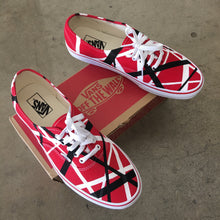 Van Halen Theme Vans Authentic Shoes