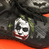 Custom Painted Nike Metcon 3 Trainers Batman and Joker Theme