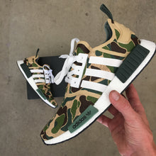 BAPE Inspired Custom Painted Adidas NMD R1