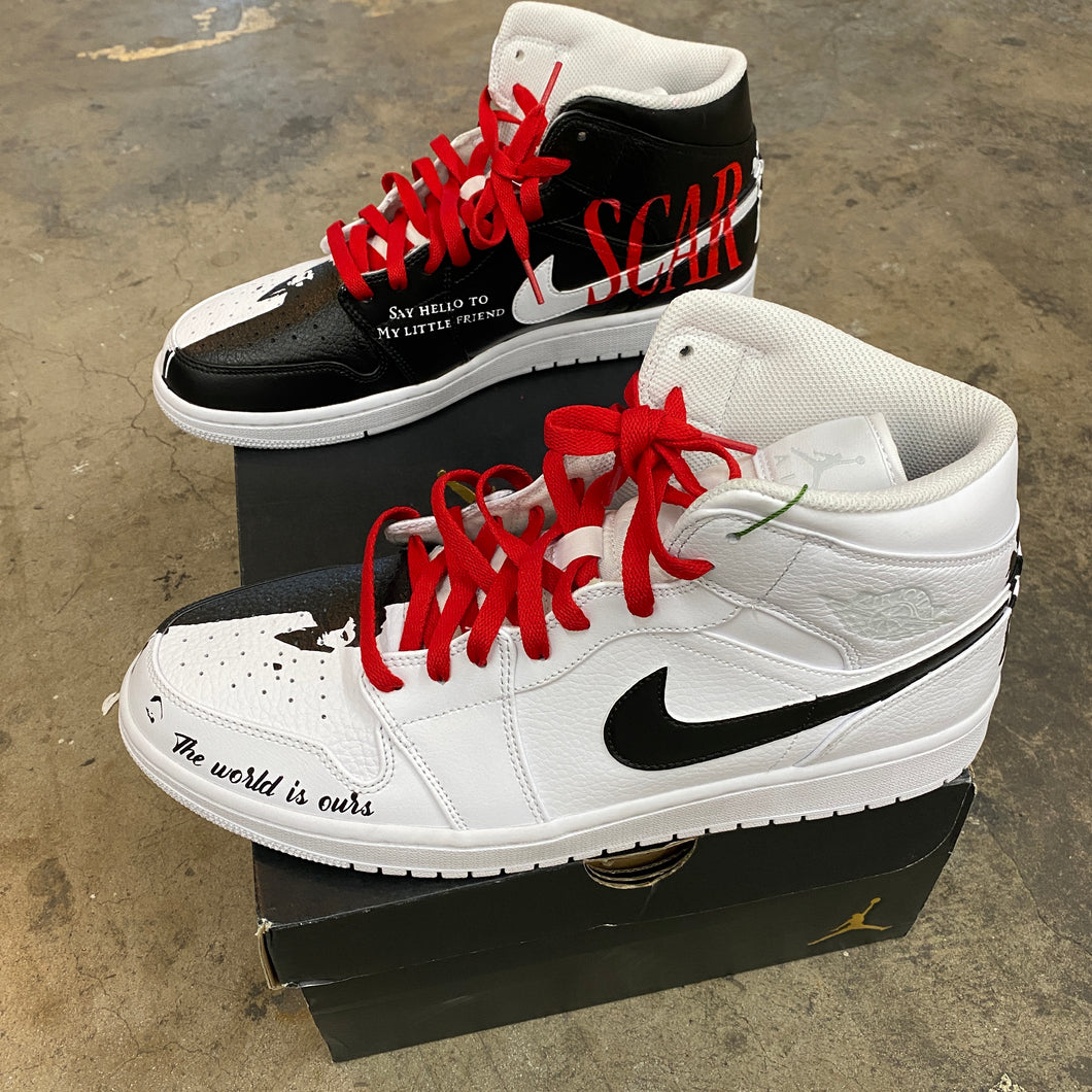 Copy of Jordan 1 Mid White/Pure Platinum - Mens 12.5 - Custom Order - Invoice 2 of 2