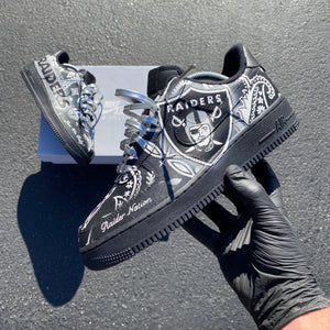 Black AF1 Low - Womens 9.5 - Custom Order - Invoice 2 of 2